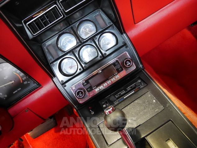 Chevrolet Corvette C3 NOIR Occasion - 9