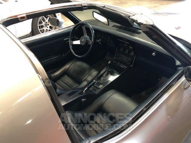 Chevrolet Corvette C3 Stingray Gris Clair Verni Occasion - 8