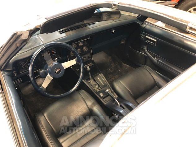 Chevrolet Corvette C3 Stingray Gris Clair Verni Occasion - 9