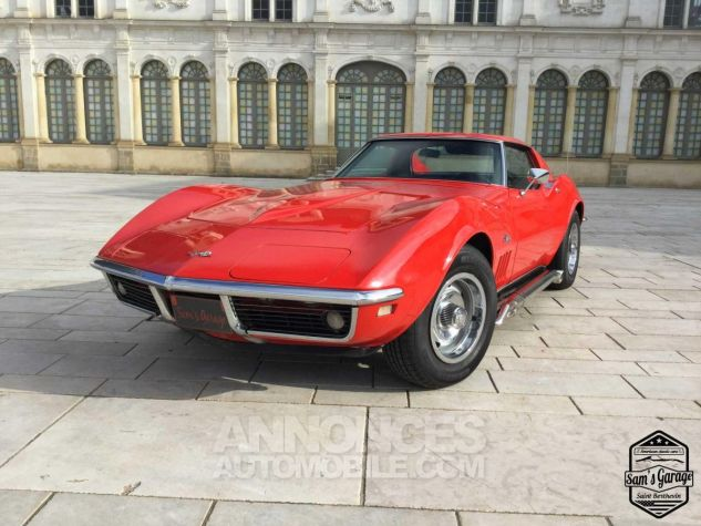 Chevrolet Corvette C3 Stingray V8 1968 BM4 Rouge Occasion - 1