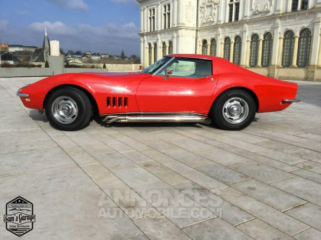 Chevrolet Corvette C3 Stingray V8 1968 BM4 Rouge Occasion - 2
