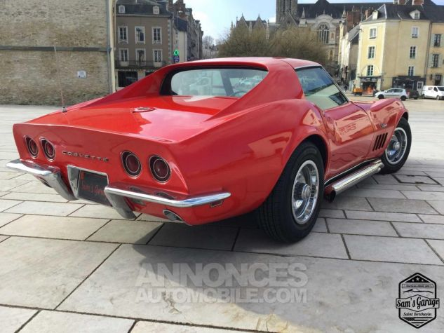 Chevrolet Corvette C3 Stingray V8 1968 BM4 Rouge Occasion - 3
