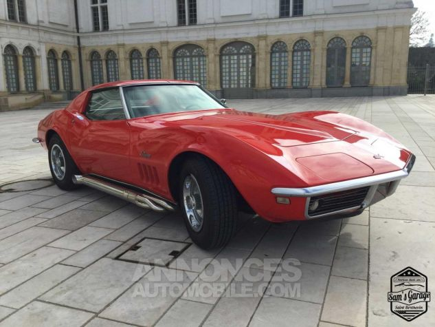 Chevrolet Corvette C3 Stingray V8 1968 BM4 Rouge Occasion - 4