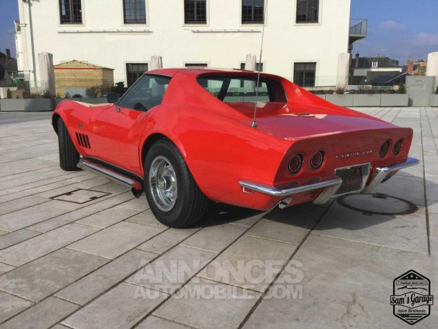 Chevrolet Corvette C3 Stingray V8 1968 BM4 Rouge Occasion - 5