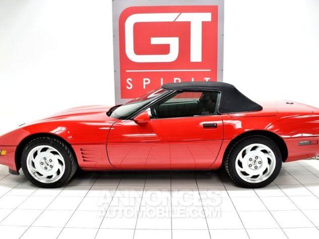 Chevrolet Corvette C4 Cabriolet Bright Red WA 8774 Occasion - 2