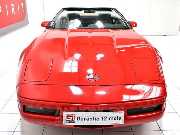 Chevrolet Corvette C4 Cabriolet Bright Red WA 8774 Occasion - 4