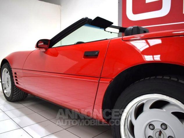 Chevrolet Corvette C4 Cabriolet Bright Red WA 8774 Occasion - 13
