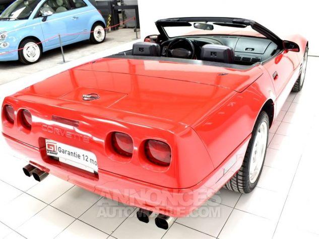 Chevrolet Corvette C4 Cabriolet Bright Red WA 8774 Occasion - 15