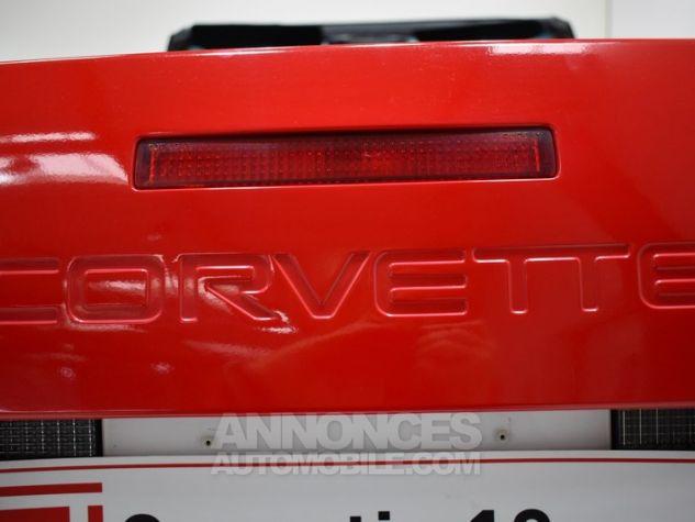 Chevrolet Corvette C4 Cabriolet Bright Red WA 8774 Occasion - 48