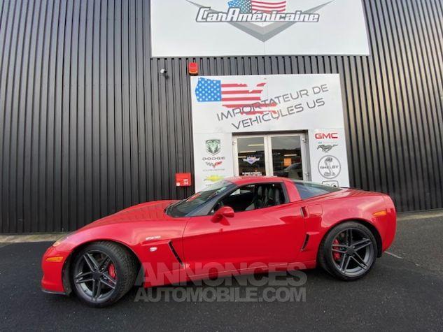 Chevrolet Corvette C6 ZO6 512 ch Rouge Verni Occasion - 2