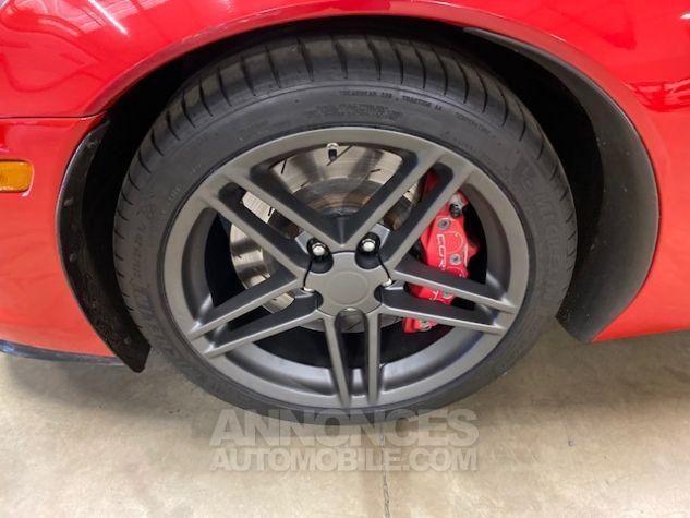 Chevrolet Corvette C6 ZO6 512 ch Rouge Verni Occasion - 5