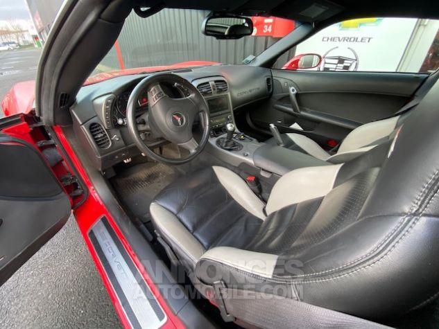 Chevrolet Corvette C6 ZO6 512 ch Rouge Verni Occasion - 8