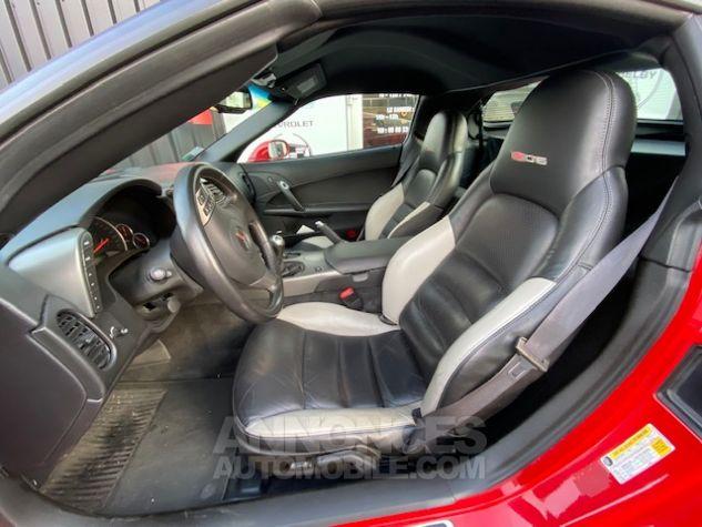 Chevrolet Corvette C6 ZO6 512 ch Rouge Verni Occasion - 9