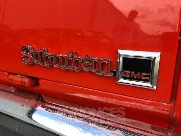 Chevrolet Suburban GMC 8 PLACES V8 AUTO rouge verni Occasion - 14
