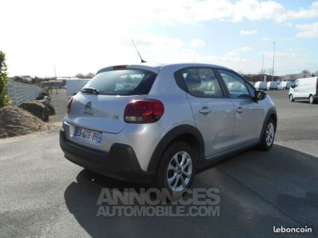 Citroen C3 FEEL BUSINESS GRIS Occasion - 1