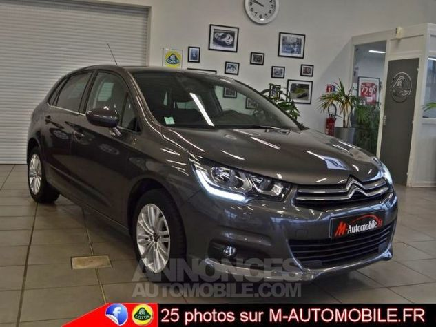 Citroen C4 BLUEHDI 120CH MILLENIUM BUSINESS EAT6 GRIS Occasion - 0