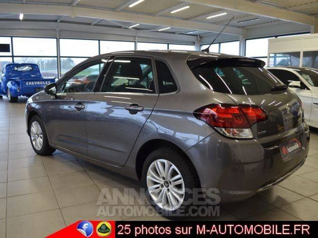 Citroen C4 BLUEHDI 120CH MILLENIUM BUSINESS EAT6 GRIS Occasion - 4