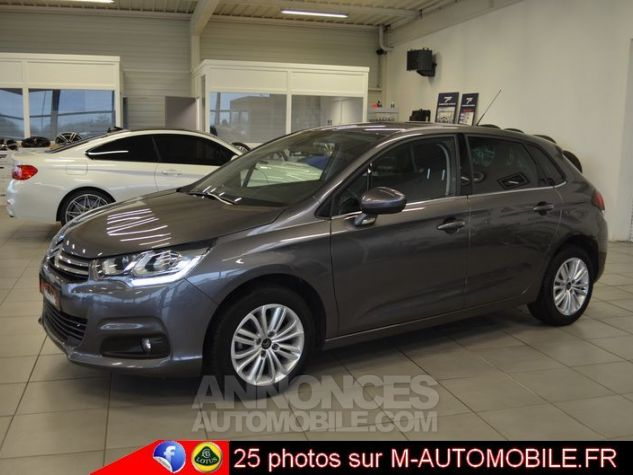 Citroen C4 BLUEHDI 120CH MILLENIUM BUSINESS EAT6 GRIS Occasion - 6