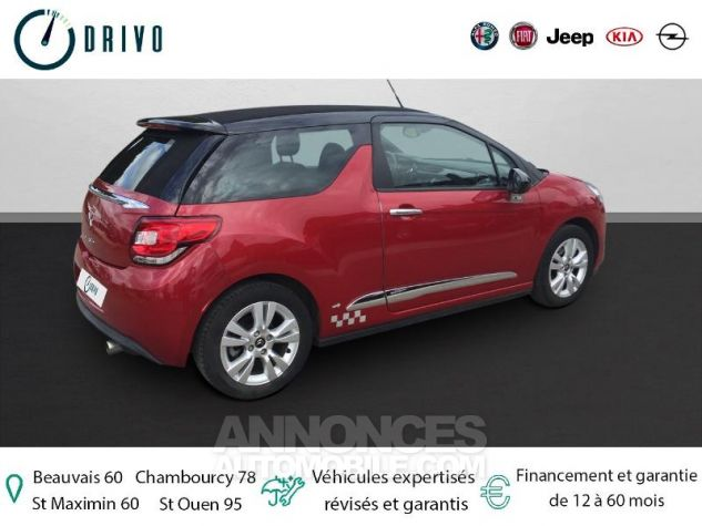 Citroen DS3 1.6 VTi So Chic 6cv Bordeaux Occasion - 1
