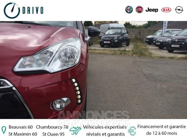 Citroen DS3 1.6 VTi So Chic 6cv Bordeaux Occasion - 19