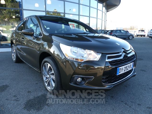 Citroen DS4 1.6 E-HDI115 AIRDREAM SO CHIC Brun Ickory Occasion - 0