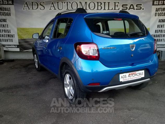 Dacia SANDERO TCE 90 E6 Stepway Ambiance Bleu Occasion - 3