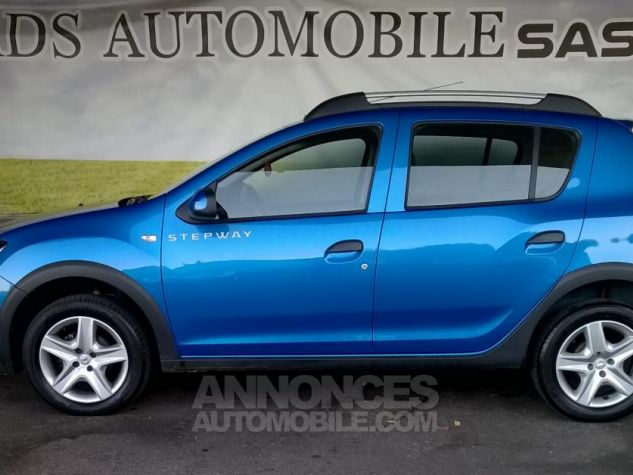 Dacia SANDERO TCE 90 E6 Stepway Ambiance Bleu Occasion - 9