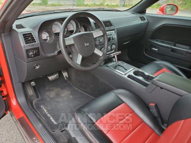 Dodge Challenger RT V8 5,7L HEMI BVA 18438KM Rouge Verni Occasion - 5