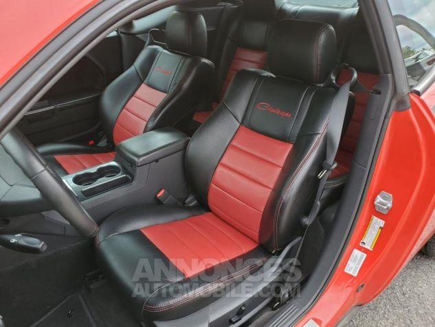 Dodge Challenger RT V8 5,7L HEMI BVA 18438KM Rouge Verni Occasion - 6