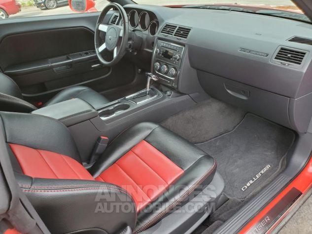 Dodge Challenger RT V8 5,7L HEMI BVA 18438KM Rouge Verni Occasion - 7