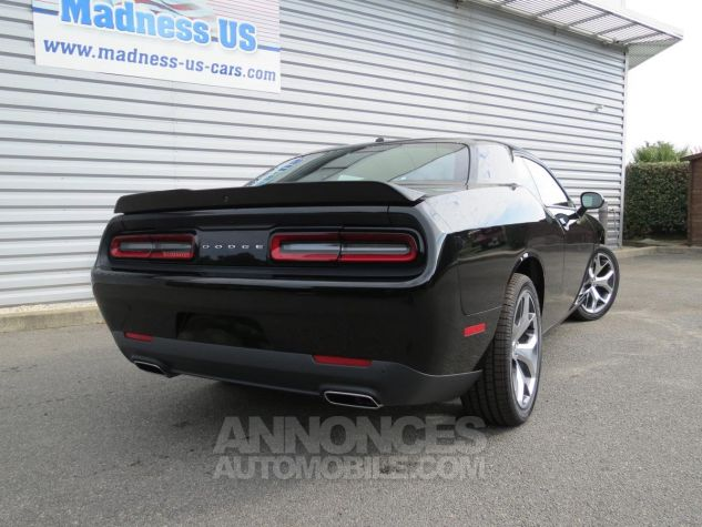 Dodge Challenger  SXT Plus V6 2018 Noire Neuf - 8