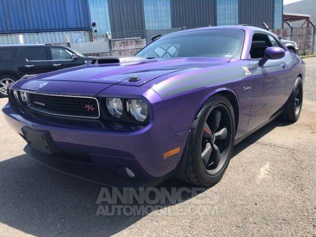Dodge Challenger V8 RT 57L HEMI VERSION SCAT PACK MOPAR violet verni Occasion - 1
