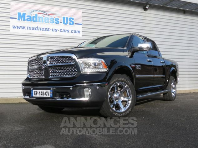 Dodge RAM 1500 Crew Cab Laramie 4x4 GPL 2017 Brilliant Black. Occasion - 4