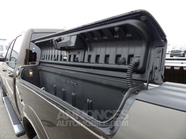 Dodge RAM 1500 CREW CAB LARAMIE MONOTONE RAMBOX LONG BED NOIR Occasion - 4
