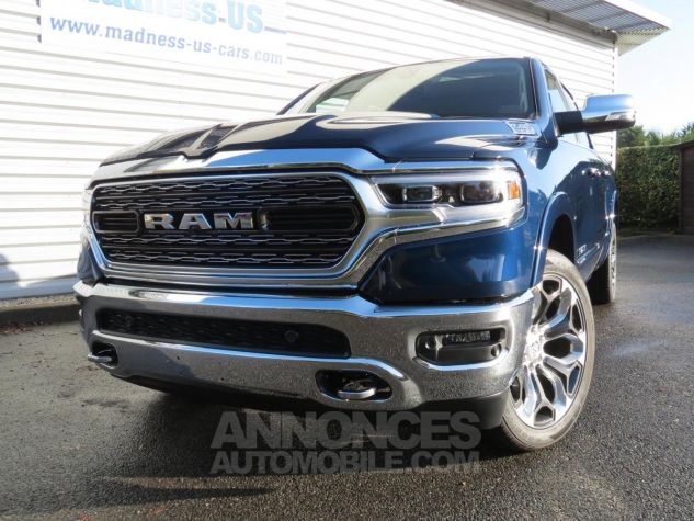 Dodge RAM 1500 Crew Cab Limited 4x4 2019 Patriot Blue Neuf - 3