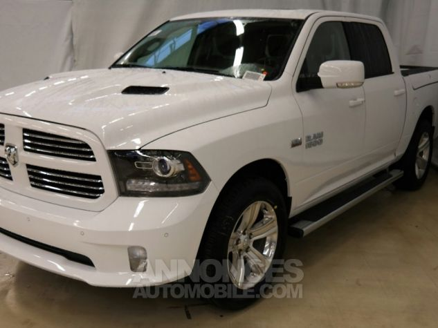 Dodge RAM 1500 CREW CAB SPORT RAMBOX 2017 BLANC Metal Neuf - 0