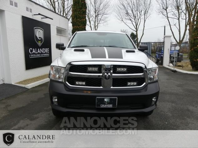 Dodge Ram 1500 SLT PLUS CREW CAB 3.0 V6 ECODIESEL BLANC Occasion - 3