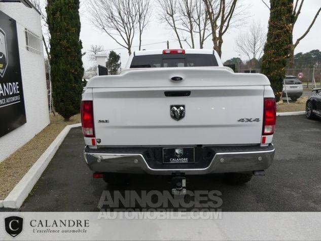 Dodge Ram 1500 SLT PLUS CREW CAB 3.0 V6 ECODIESEL BLANC Occasion - 4