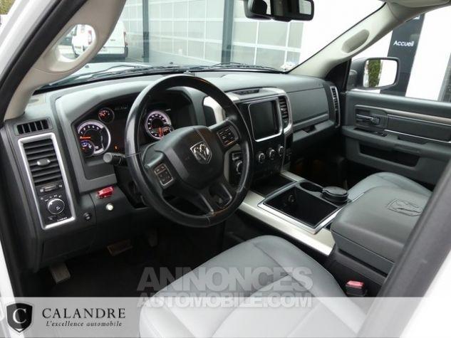 Dodge Ram 1500 SLT PLUS CREW CAB 3.0 V6 ECODIESEL BLANC Occasion - 6