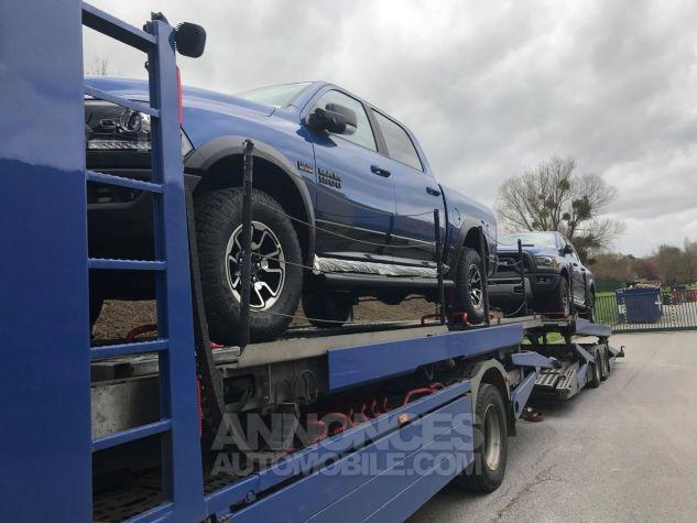 Dodge RAM CREW CAB REBEL 2018 CTTE PLATEAU  BLEU  Neuf - 10
