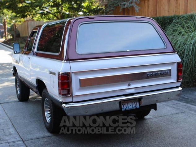 Dodge Ramcharger 1984  Occasion - 2