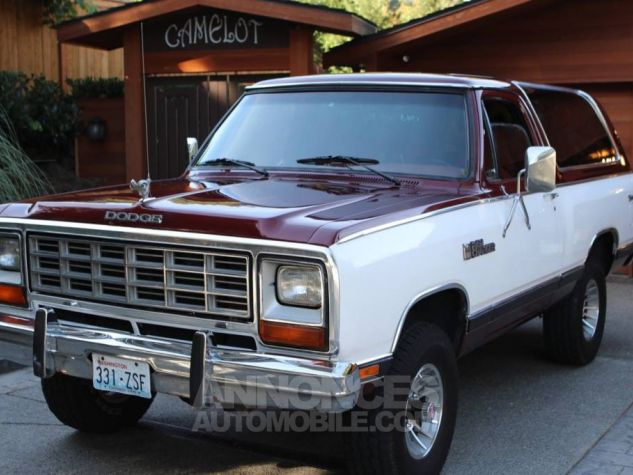 Dodge Ramcharger 1984  Occasion - 3
