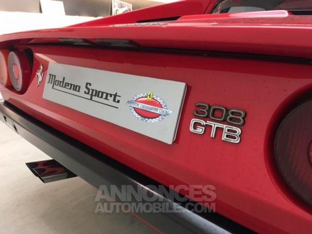 Ferrari 308 GTB Vetroresina polyester Rouge Occasion - 15