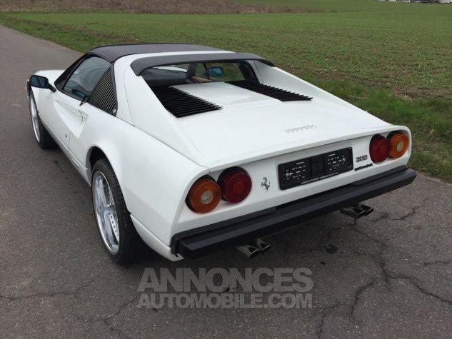 Ferrari 308 GTS QUATTROVALVOLE (TARGA) Blanche Occasion - 2