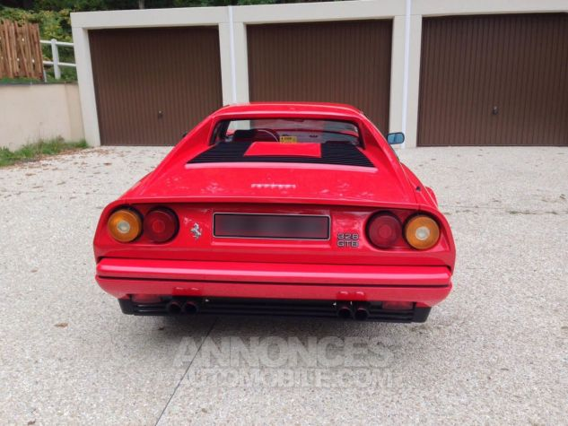 Ferrari 328 GTB Rouge Occasion - 4