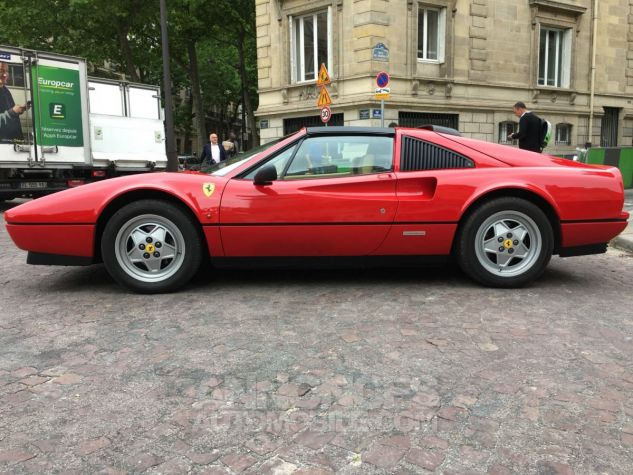 Ferrari 328 GTS ROUGE VERNI Occasion - 2