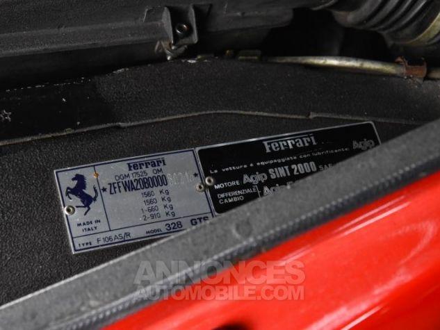 Ferrari 328 GTS Rouge Occasion - 11