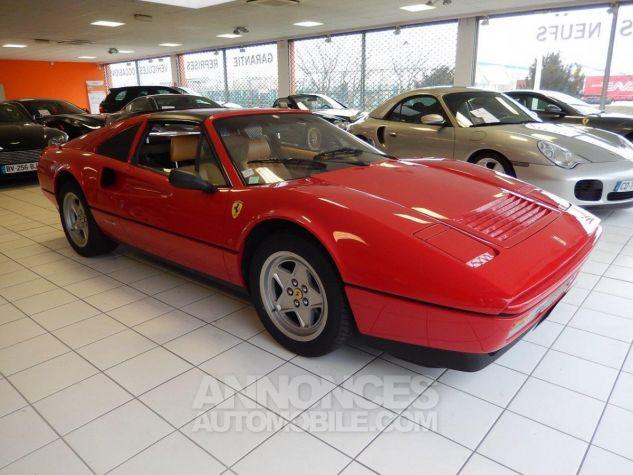 Ferrari 328 GTS - Origine POZZI - Parfait état - Courroie OK Rouge Occasion - 0