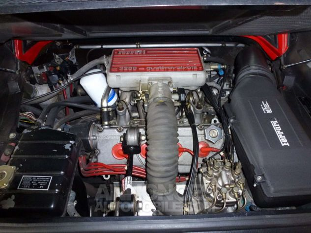 Ferrari 328 GTS - Origine POZZI - Parfait état - Courroie OK Rouge Occasion - 8