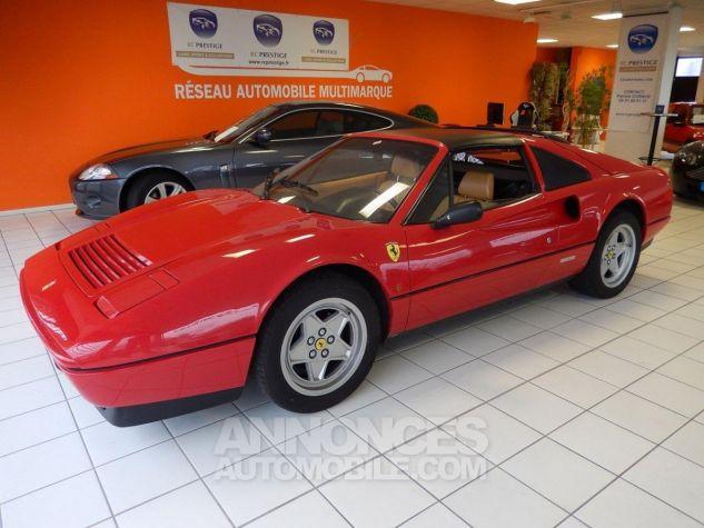 Ferrari 328 GTS - Origine POZZI - Parfait état - Courroie OK Rouge Occasion - 11